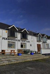 Pembrokeshire Yacht Club - clubhouse at Gellyswick